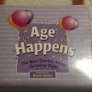 👀Age Happen hard cover book By Bruce Lansky👀